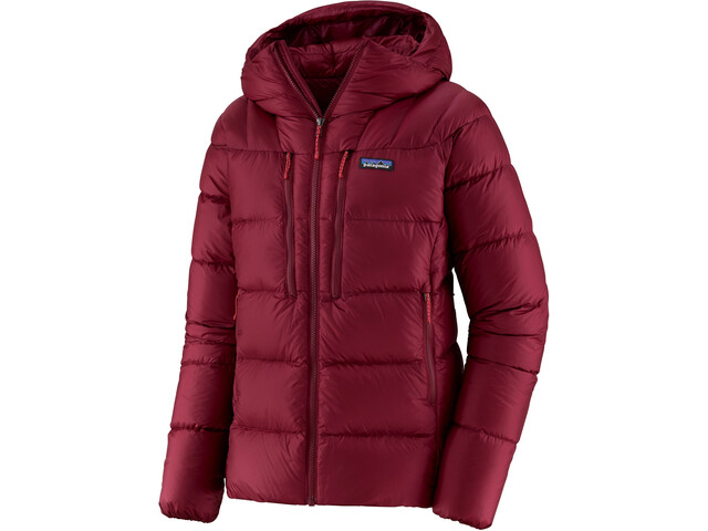 Patagonia Fitz Roy Giacca In Piumino Donna, roamer red